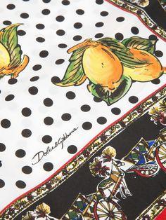 Dolce & Gabbana Sicilian Print Scarf - Stefania Mode - farfetch.com