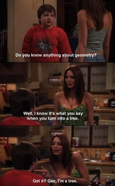 Candy from Two and a Half men...back when the show was good...
