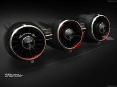 Audi Allroad Shooting Brake Concept 2014   Interior Sketch