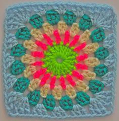 Pop Wheel ~ free pattern by Sarah London