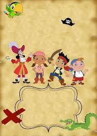aniversario jack e os piratas da terra do nunca - Pesquisa Google