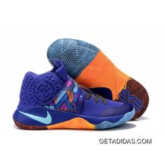 hot sale online 60909 1d23b Nike Kyrie 2 Sneakers Navy Orange Basketball Shoes New Style, Price   98.30  - Adidas Shoes,Adidas Nmd,Superstar,Originals