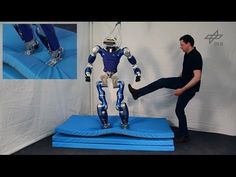 Multi-Contact Balancing for Torque-Controlled Humanoid Robots - YouTube
