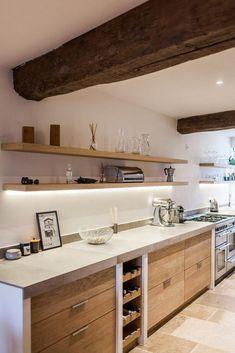 Home Decor Kitchen, Rustic Kitchen, Kitchen Living, New Kitchen, Home Kitchens, Modern Kitchen Design, Interior Design Kitchen, Küchen Design, House Design