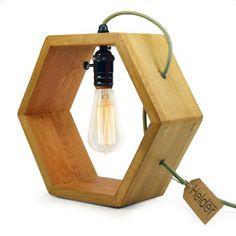 Image result for houten lamp