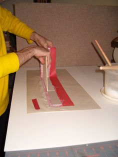 applying board to belt, tutorial for making museum boxes. Diy Paper, Paper Crafts, Diy Crafts, Cardboard Crafts, Bookbinding Tutorial, Altered Boxes, Craft Box, Book Projects, Handmade Books