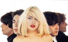 debbieharry1979: blondie in some cover outtakes for their debut...