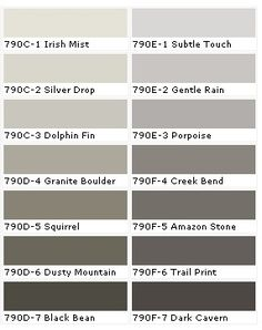 Awesome Grayish Brown Paint