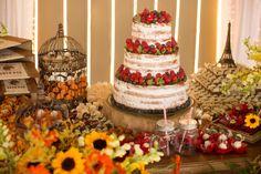 Casamento temático: naked cake