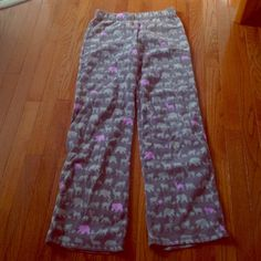 Pajama Pants Like new condition! Super warm and comfy. Intimates & Sleepwear Pajamas