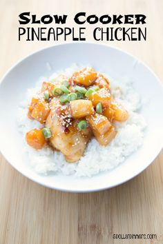 Slow Cooker Pineapple Chicken – Recipes, Printable Coupons | $5 Dinners™