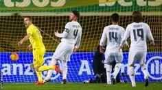Real Madrid 0-1 Villareal #LaLiga #LigaBBV #soccer #football #score #result #week #daily #Spain #ronaldo #cristiano #halamadrid #madrid
