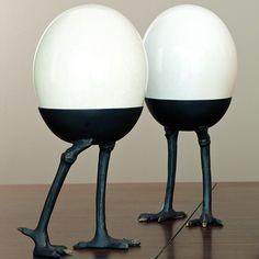 Ostrich Egg Walking