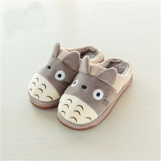 Totoro Plush Slippers @ Ponyo House