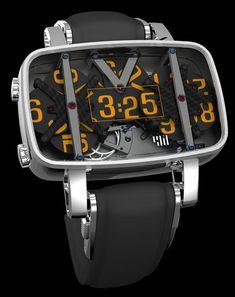 4N concept Watches affichage numérique