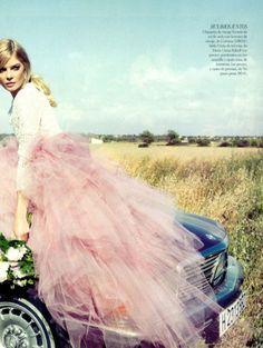 Cristina Tosio by Borja Zausen for Vogue Spain