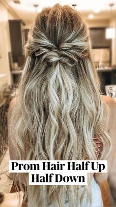 Medium Length Hairstyles, Curly Hairstyles, Trendy Hairstyles, Boho Hairstyles For Long Hair, Prom Hairstyles Half Up Half Down, Half Up Long Hair, Braided Half Up Half Down Hair, Simple Everyday Hairstyles, Hairstyles For Dances