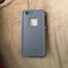 Lifeproof iPhone 6s Gray and baby blue lifeproof. Used for two weeks just didn't like the color. Very good condition. Paid over $80. Comes in original packaging. LifeProof Accessories Phone Cases