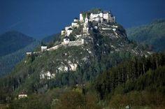 Замок Хохостервиц,Австрия.