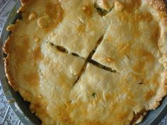 Creamy Chicken Pot Pie A creamy, butter pot pie that is just perfect for a lazy night in. You could use store brought pie crusts or make it from scratch. I've tried both and it sti...