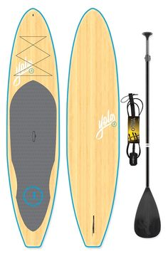 This incredible all around YOLO Stand Up Paddleboard Bamboo - Blue features classic epoxy construction and a timeless bamboo design. Inflatable Sup Board, Sup Stand Up Paddle, Sup Boards, Sup Yoga, Standup Paddle Board, Bamboo Design, Sup Surf, Learn To Surf, In Case Of Emergency