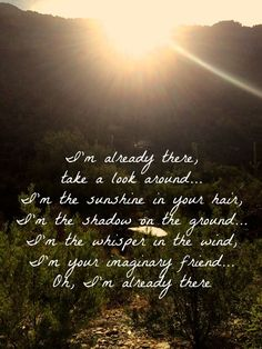 I'm Already There by Lonestar Country Music Lyrics--one of my favorite songs ever. thank you to all those military people who leave their families to keep us safe. Country Music Quotes, Country Music Lyrics, Country Songs, Country Girls, Country Living, Music Love, Love Songs, Awesome Songs, Westlife Lyrics