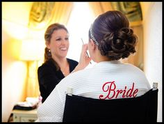 BRIDE Wedding Day Back Embroidered Robe  by SomethingYouGifts, $35.95