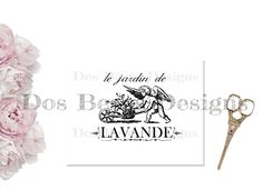 Vintage french graphic, lavender garden image transfer, instant download by DosBesosDesigns on Etsy https://www.etsy.com/listing/226640584/vintage-french-graphic-lavender-garden