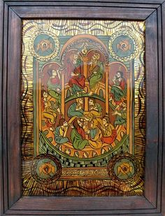 Imagine similară Orthodox Icons, Sacred Art, Glass, Painting, Home Decor, Art Ideas, Decoration Home, Drinkware, Room Decor