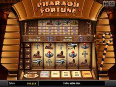 Pharaoh Fortune, la machine à sous dont le thème est l'Égypte des pharaons et des trésors mésopotamien à jouer en version gratuite sur : http://www.creacasino.com/jeux-de-casino/pharaoh-fortune.php