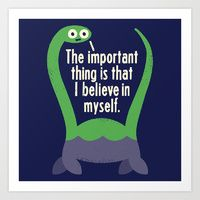 Art Prints featuring Myth Understood by David Olenick