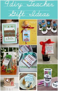 9 DIY Teacher Gift Ideas