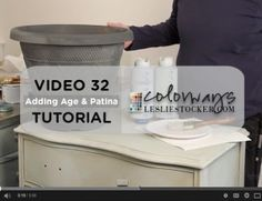 Video 32 – Let's Do Stone, Adding Age and Patina | Colorways with Leslie Stocker