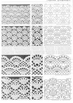 Crochet stitches by Kathleen Elfrank Lagrand