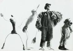 Ugo Mulas, Alexander Calder, Circus 1963 (c)Eredi Ugo Mulas. Tutti i diritti riservati Courtesy Archivio Ugo Mulas - Galleria Lia Rumma Mila...