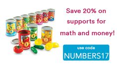 This week we're offering some of our favorite tools to teach early math skills at 20% off!