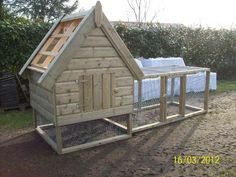 Kippenhok Chicken Coop Plans, Animals And Pets, Shed, Outdoor Structures, House Styles, Pets, Barns, Sheds