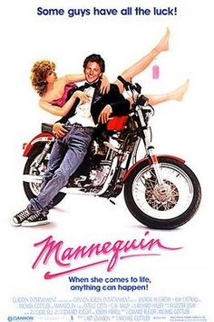 Mannequin: Synopsis  A young artist sees one of his mannequins in a department store and goes to work there to be close to her. She magically comes to life when he is around, and so begin the hilarious escapades.