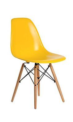 Aryana Home Eames - Silla amarilla réplica para niños - http://vivahogar.net/oferta/aryana-home-eames-silla-amarilla-replica-para-ninos/ -
