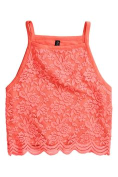 Top corto in jersey   H&M
