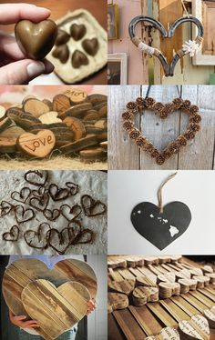 A Rustic Heart Collection by Lady Ly on Etsy--Pinned with TreasuryPin.com