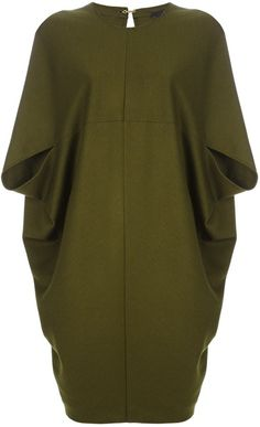 GUCCI Boxy Cocoon Dress - Lyst
