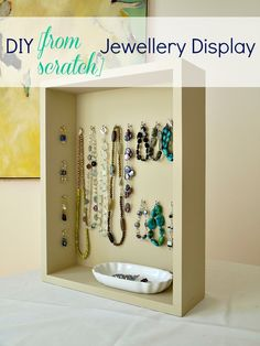 Do it yourself jewelry displays photos and instructions jewelry diy jewellery display httpdans le townhousespot solutioingenieria Images