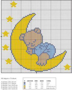 Bear on the moon