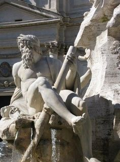 Gian Lorenzo Bernini (1598-1680) was a 17th century sculptor and architect who is credited with creating the Baroque style of sculpture.   #JustGo #Rome