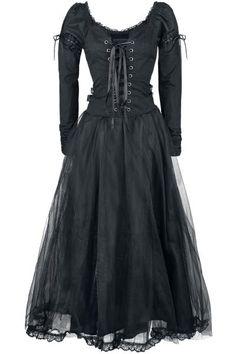 Black Net Lace Dress <3