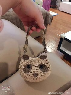 VK is the largest European social network with more than 100 million active users. Our goal is to keep old friends, ex-classmates, neighbors and colleagues in touch. Crochet Owl Purse, Crochet Bags, Straw Bag, Purses And Bags, Miniatures, Blog, Fashion, Amigurumi, Satchel Handbags