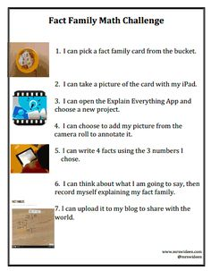 Explain Your Thinking With Math Stations and the Explain Everything App ~ Mrs. Wideen's Blog