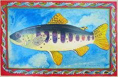 Ellie Wyeth, Place mat - Red Fish