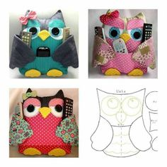 sewing ornaments | Owls | Sewing Crafts